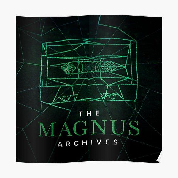The Magnus Archives Logo (Season 5) (Square Block Logo) Poster
