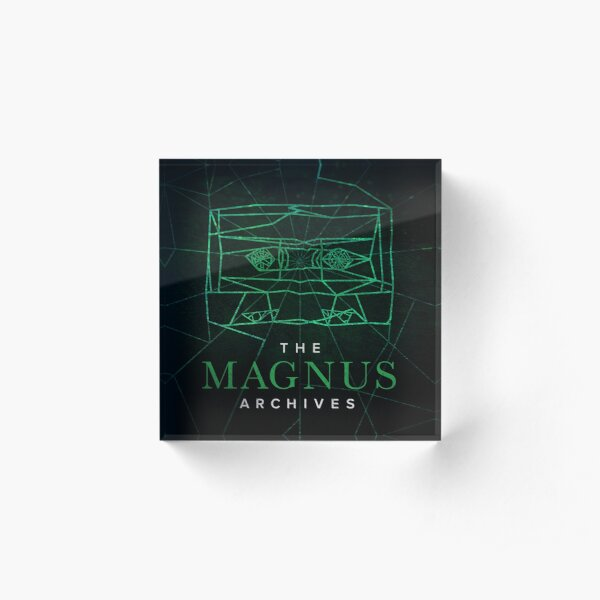 The Magnus Archives Logo (Season 5) (Square Block Logo) Acrylic Block