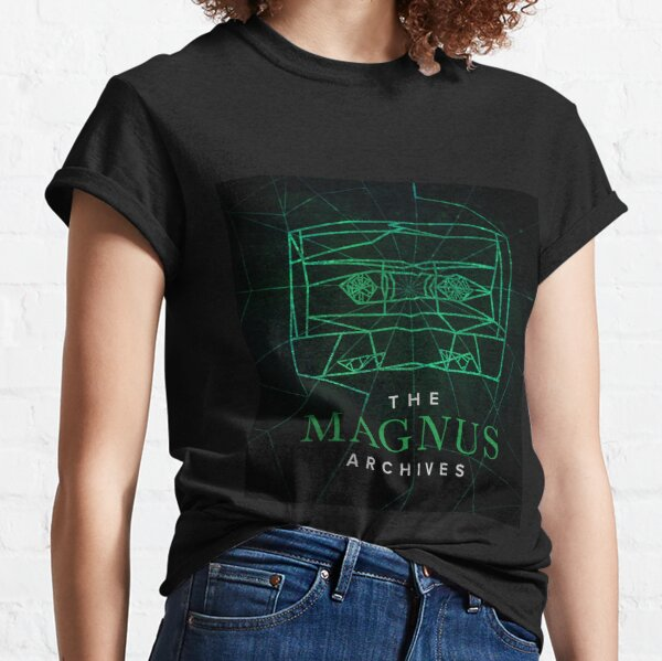 Das Magnus Archives Logo (Staffel 5) (Square Block Logo) Classic T-Shirt