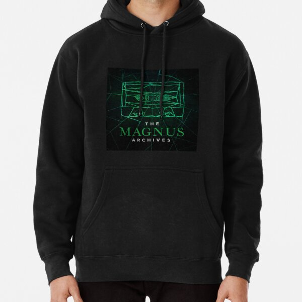 The Magnus Archives Logo (Season 5) (Square Block Logo) Pullover Hoodie