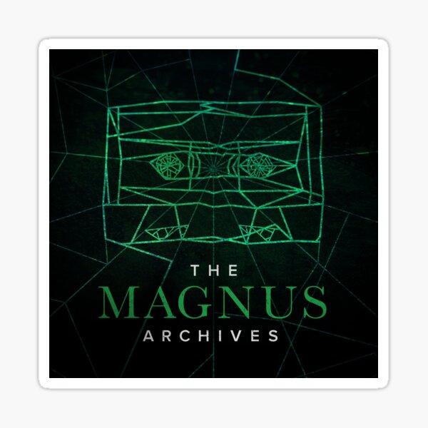 The Magnus Archives Logo (Season 5) (Square Block Logo) Sticker