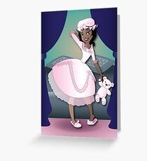 Twisted - Sleeping Beauty Greeting Card