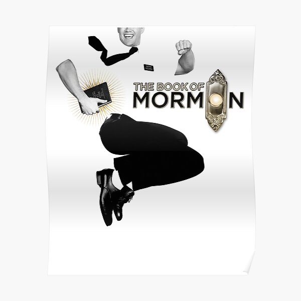 Book of Mormon poster Poster