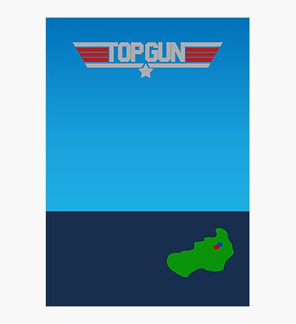 Top Gun - Minimal Poster 2 Photographic Print