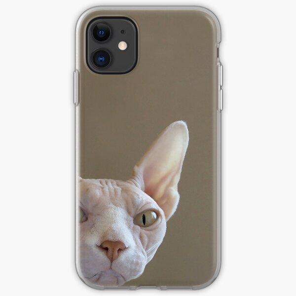 Hairless Sphynx Cat iPhone Case iPhone Soft Case