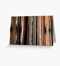 Vinyl Junkie Greeting Card