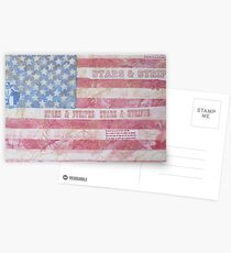 Stars & Stripes Postcards