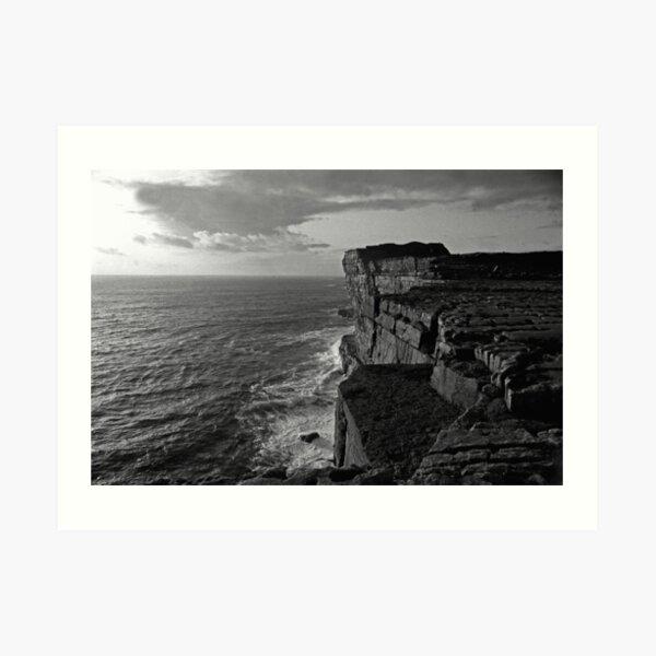 Dun Aengus iron age fort, Inishmore,Aran Islands. Art Print