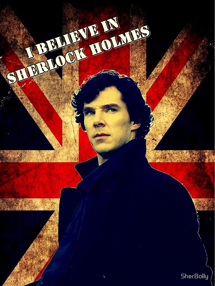 SherlockBelieveFlag | Unisex T-Shirt