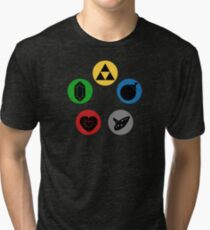 Magic the Gathering: Mana of Time Tri-blend T-Shirt