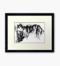 ~Gathering~ Framed Print