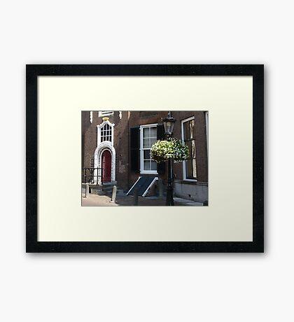 Dutch style Framed Print