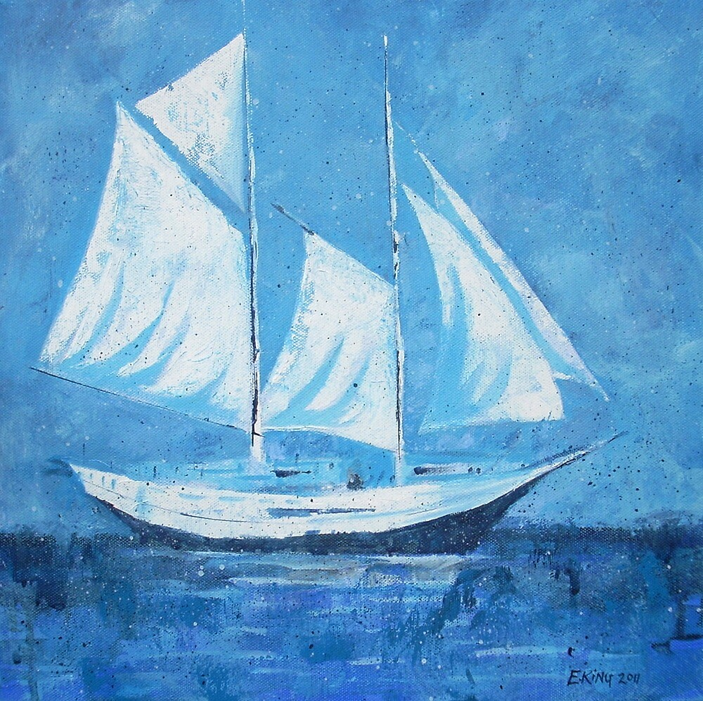 Sail Boat by Emily King