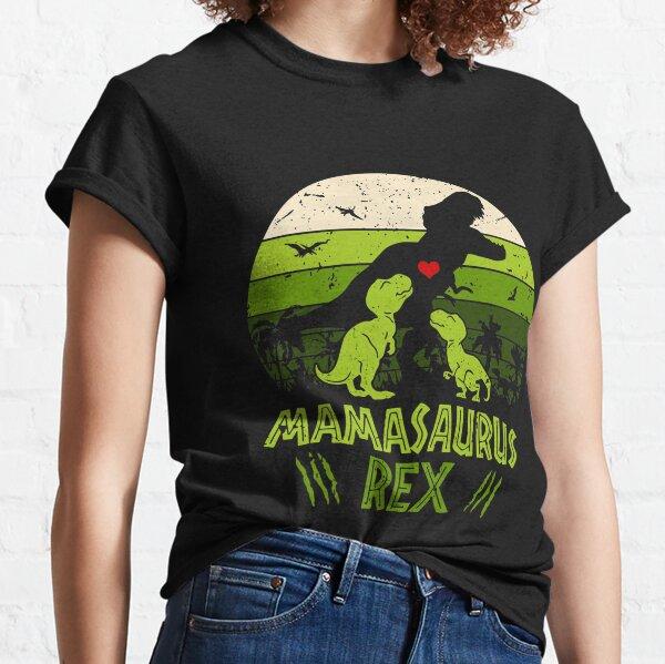 MAMASAURUS REX VINTAGE  Classic T-Shirt