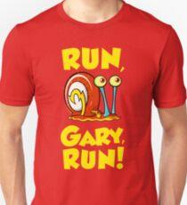 Run, Gary, RUN! Unisex T-Shirt