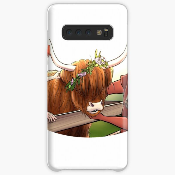 RQ Streams - Good Cow Samsung Galaxy Snap Case