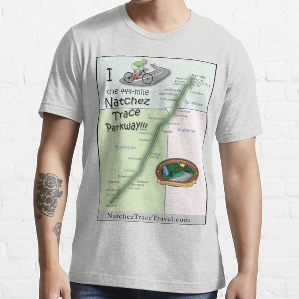 I Bicycled the Natchez Trace Parkway. Essential T-Shirt