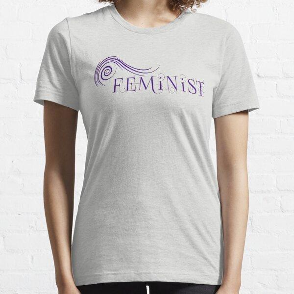 Firespiral Feminist (dark) Essential T-Shirt