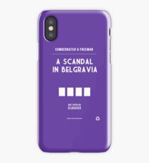 BBC Sherlock - A Scandal in Belgravia Minimalist iPhone Case/Skin