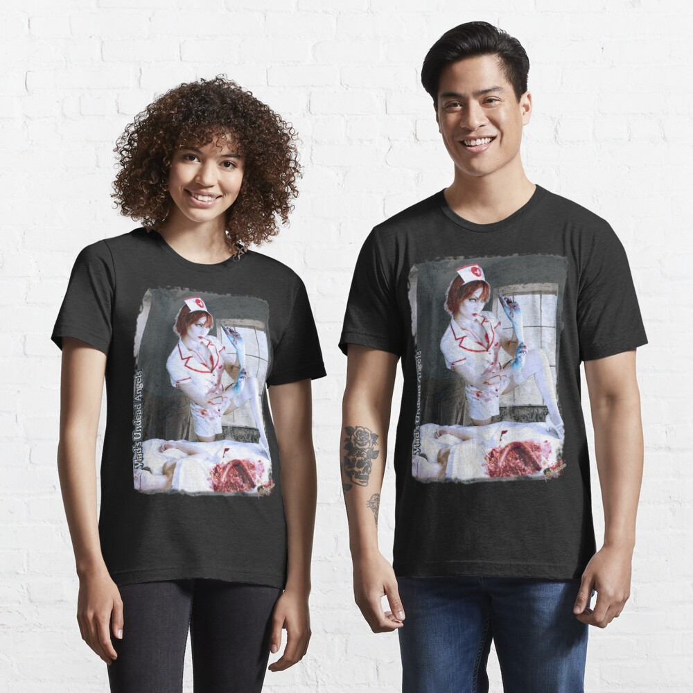 Live Undead Angels: Zombie Nurse Essential T-Shirt