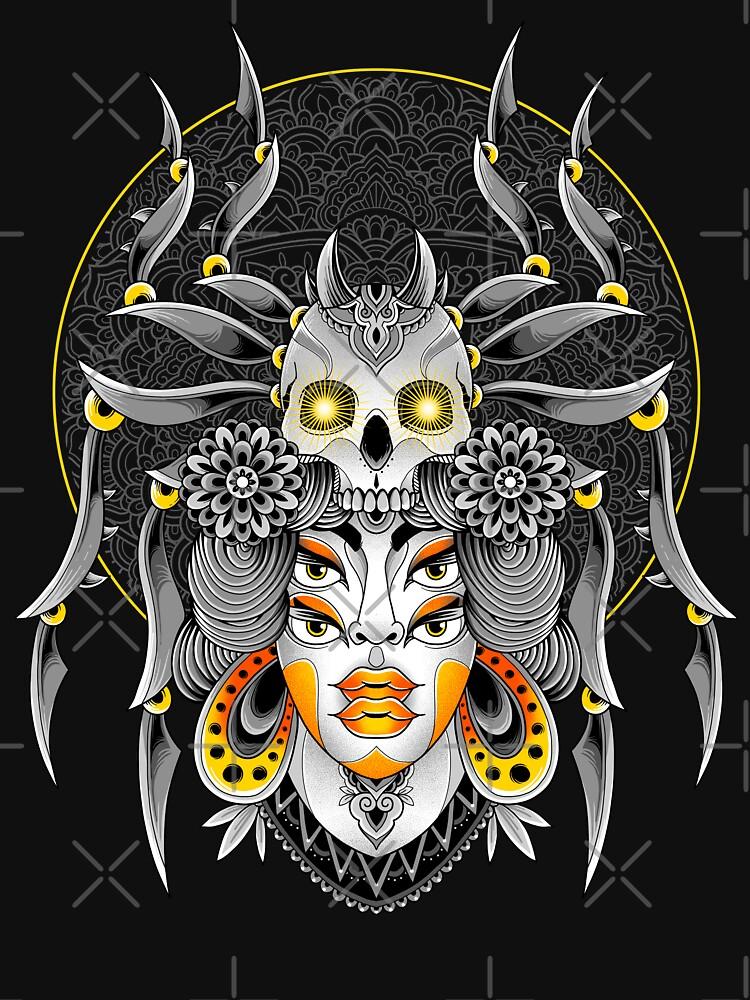 Spider Queen by GODZILLARGE
