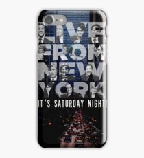 Live From New York, Saturday Night Live iPhone Case/Skin