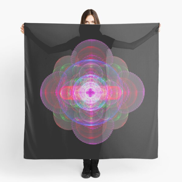 ATOMIC. Subshells or orbitals of the Oganesson atom. Scarf