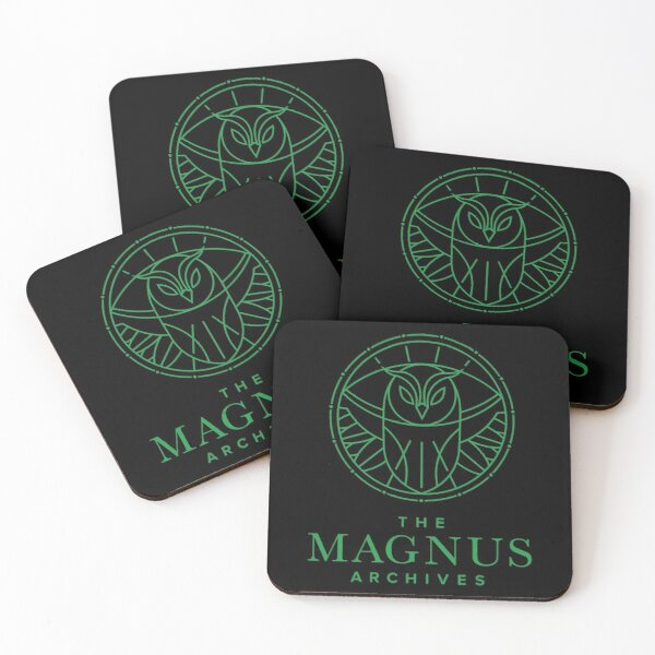 All Seeing Owl Coasters (Set of 4)