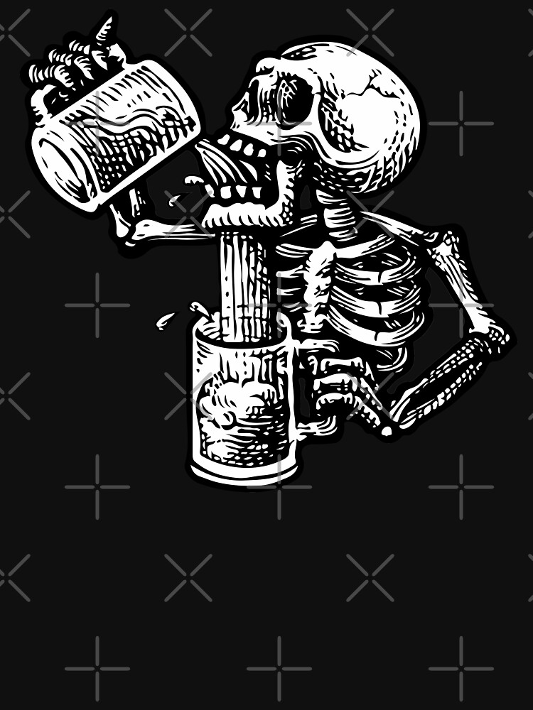 Drunk skull by jpleal