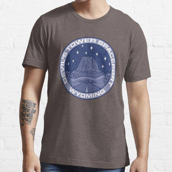 Devil's Tower Spaceport Essential T-Shirt