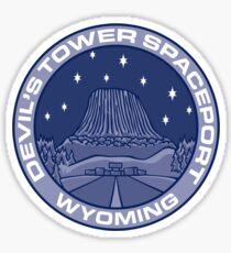 Devil's Tower Spaceport Sticker