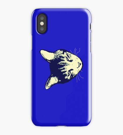Weird Cat Head iPhone 2 iPhone Case/Skin