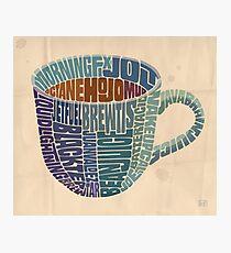 Cup o' Joe Photographic Print