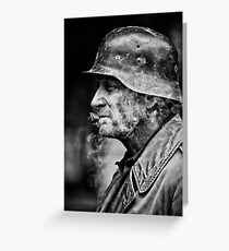 Soldier of Fortune Greeting Card