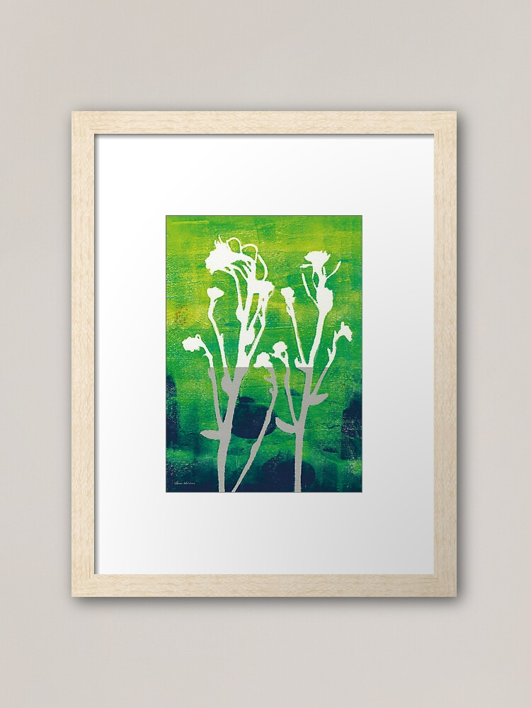 Alternate view of Every day is a new day Framed Art Print
