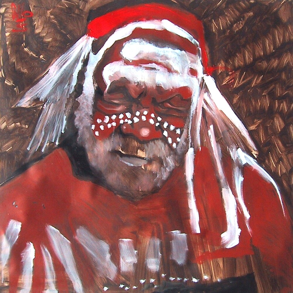 Old Shaman by arteology