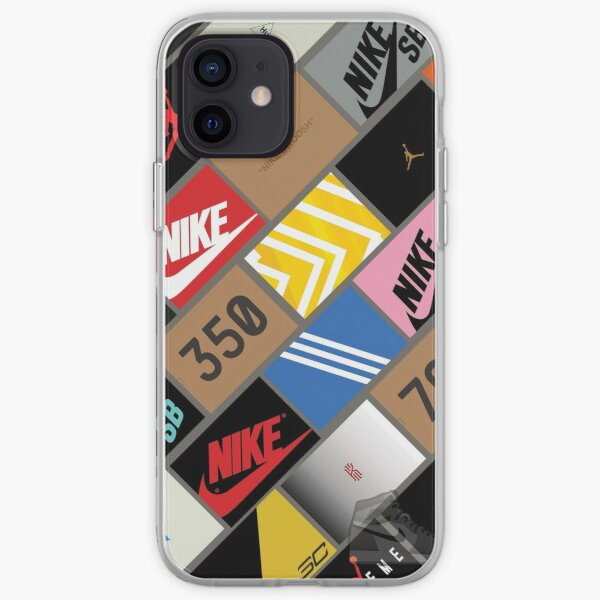 sneakers wallpaper box iPhone Soft Case