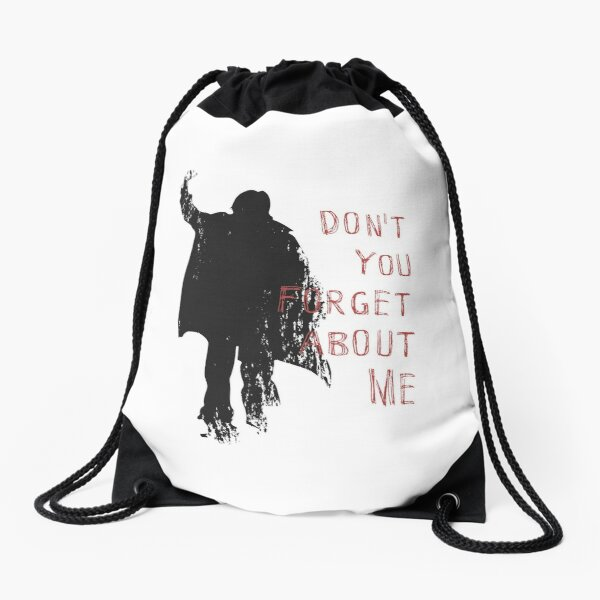 Don't You Forget About Me, 1985. Artwork for Wall Art, Prints, Posters, Tshirts, Men, Youth, Women Drawstring Bag
