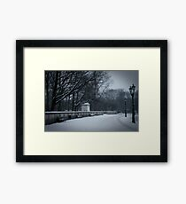 Bleak Midwinter Framed Print