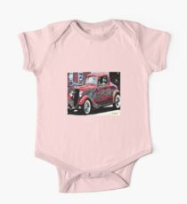 vintage car One Piece - Short Sleeve
