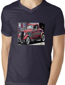 vintage car Mens V-Neck T-Shirt