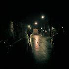 Melbourne @ night by MazuliDesign
