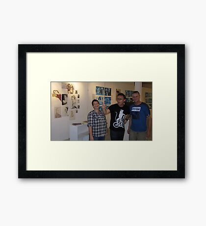 Gang of Three Framed Print