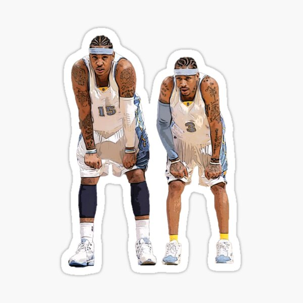 Carmelo Anthony and Allen Iverson Sticker