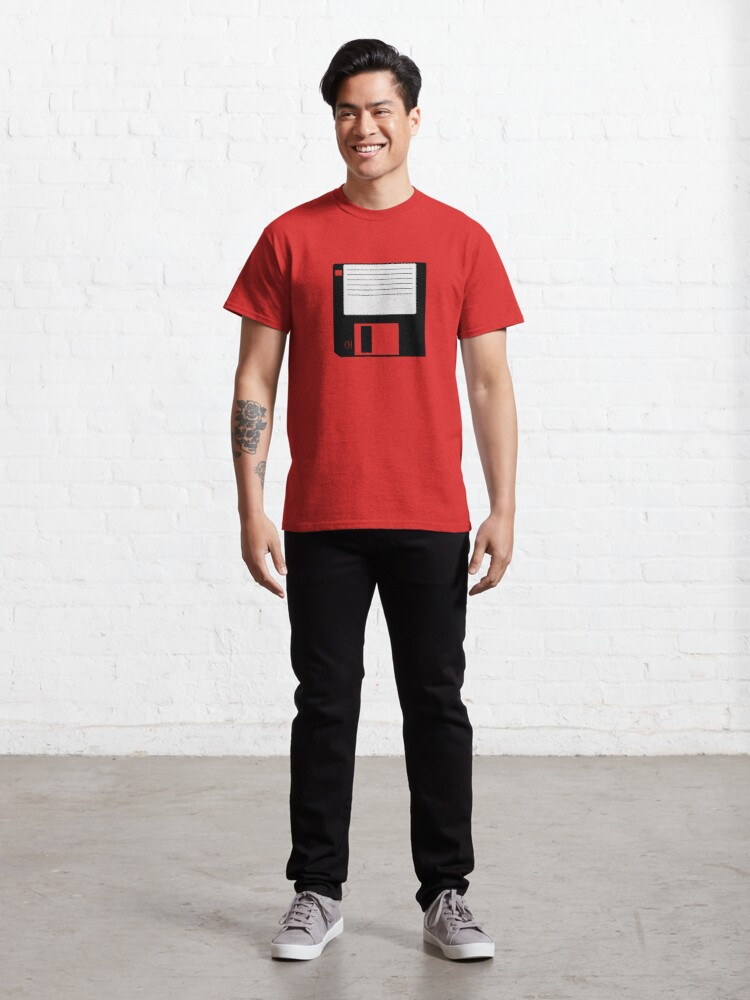 Alternate view of Floppy Disk 3.5-inch Classic T-Shirt