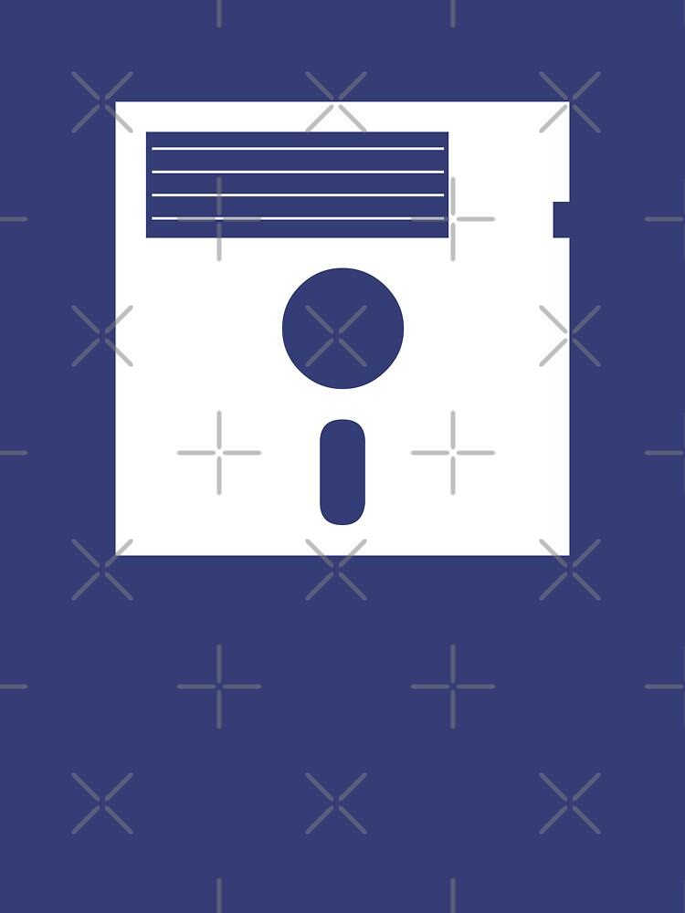 5.25in Floppy Disk (Light) by squinter-mac