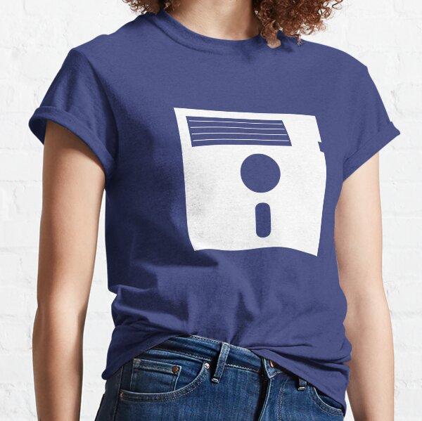 5.25in Floppy Disk (Light) Classic T-Shirt