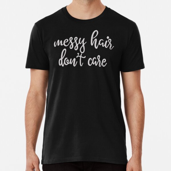 Qiop Nee Camp Hair Dont Care Short Sleeves Tshirts Baby Girls
