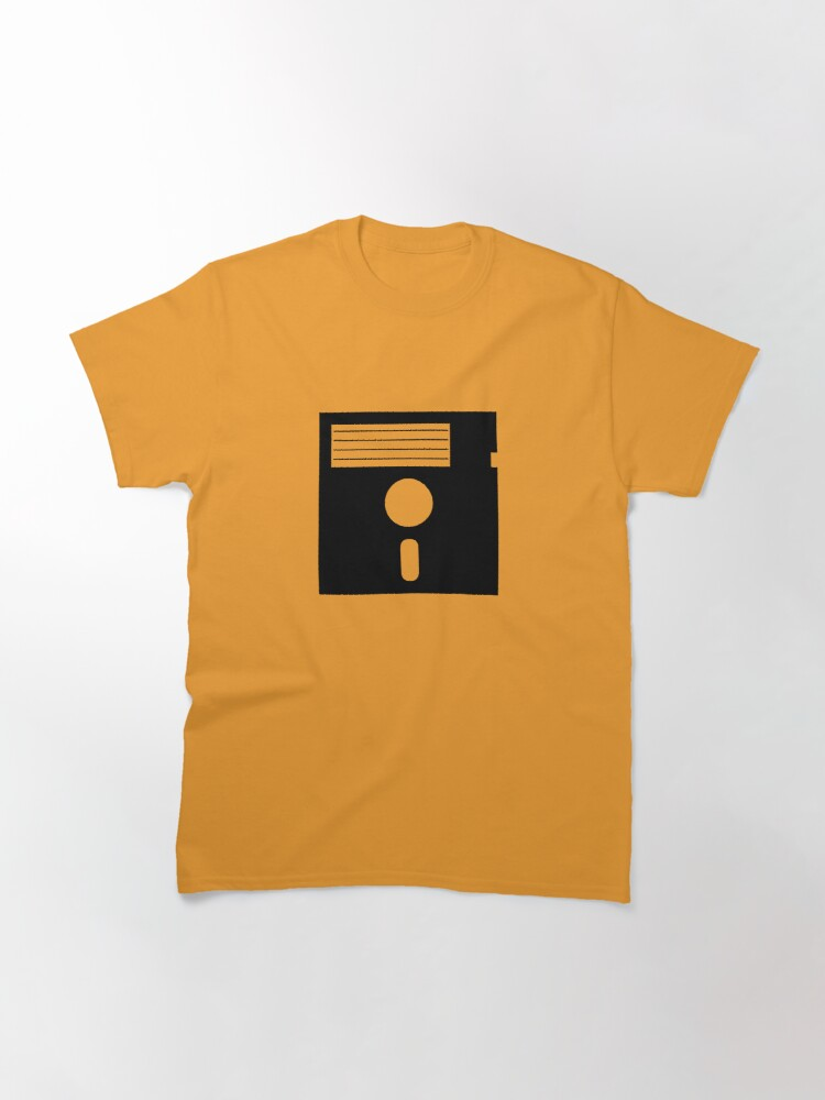 Alternate view of 5.25in Floppy Disk Classic T-Shirt