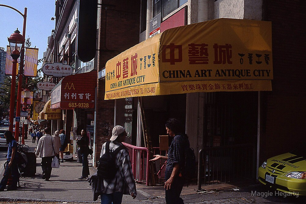 Chinatown in Vancouver by Maggie Hegarty